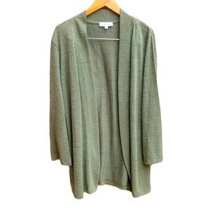 Northern Reflections Open Front MidLength Cardigan